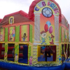 club house jumping castle