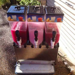 slushy machine for hire in newcastle