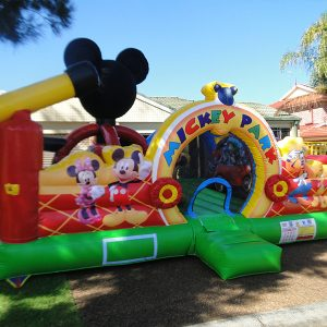 Micky Mouse Inflatable Toddler Park