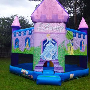 disney princess jumping castle