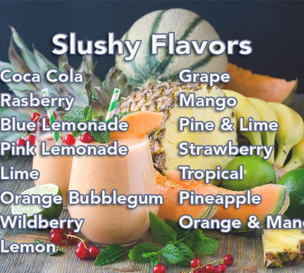 slushy machine flavors