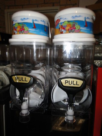 newcastle slushie machine hire