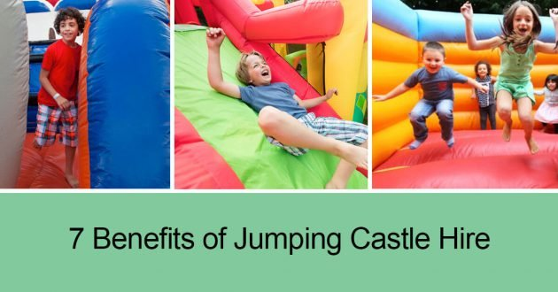 jumping castle hire benefits for your kids