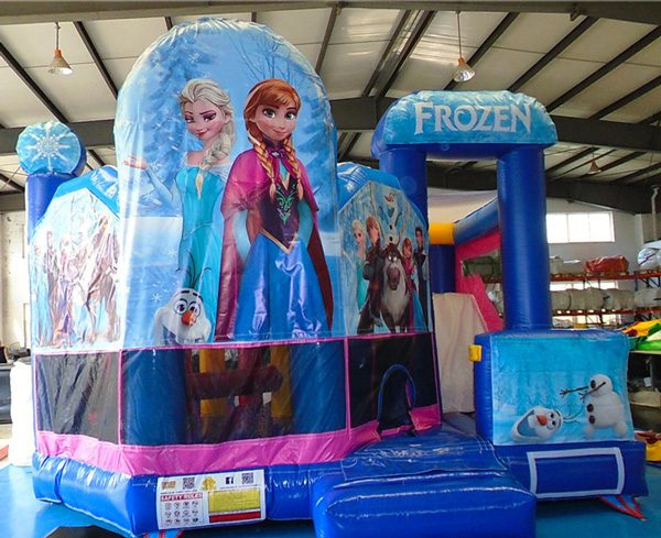 frozen jumping castle hire